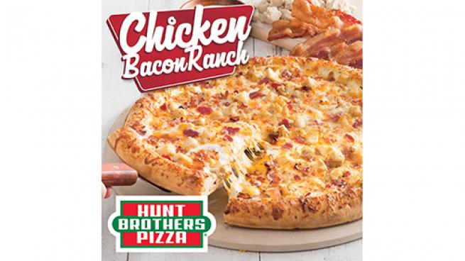 Hunt Brothers Chicken Bacon Ranch Pizza