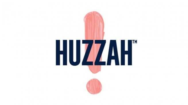Logo for HUZZAH Probiotic Seltzer