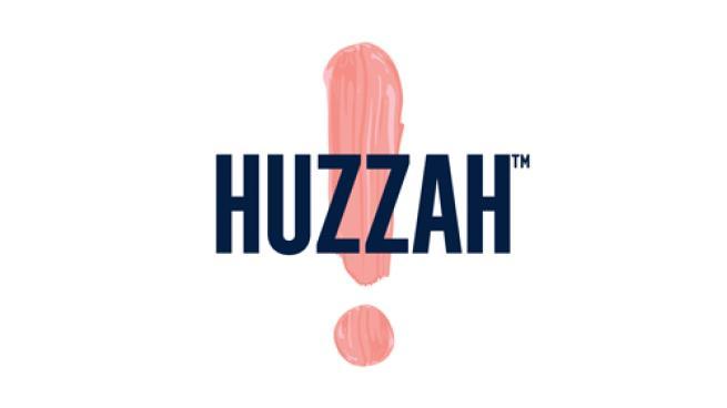 Logo for HUZZAH Probiotic Seltzer