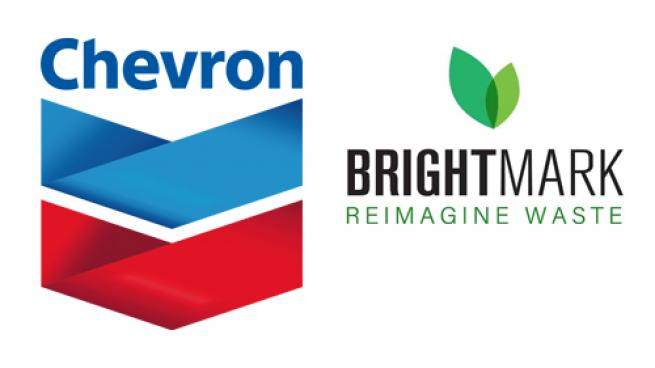Logos for Chevron & Brightmark