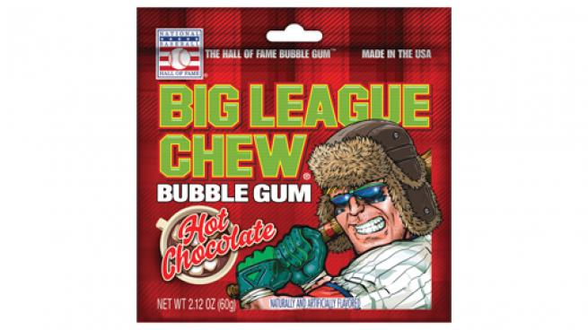 Big League Chew Hot Chocolate-Flavored Shredded Bubble Gum