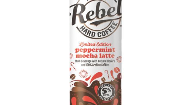 REBEL Peppermint Mocha Hard Latte