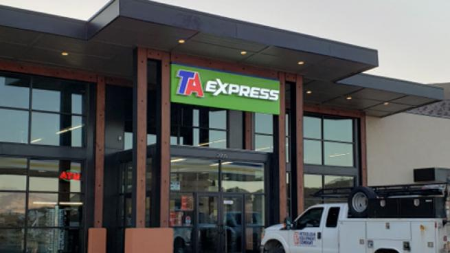 A TA Express in Salina, Utah