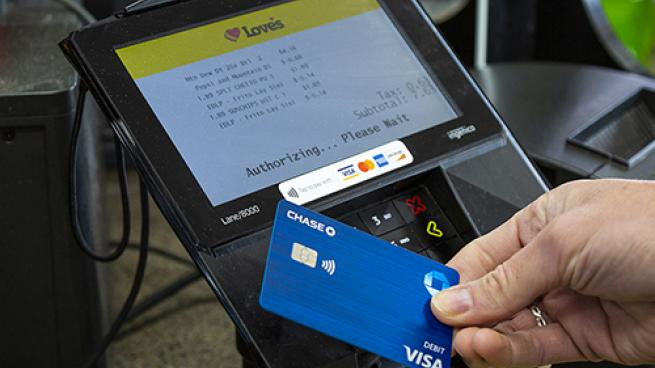 Love's contactless payment