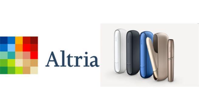Altria Logo and IQOS 3