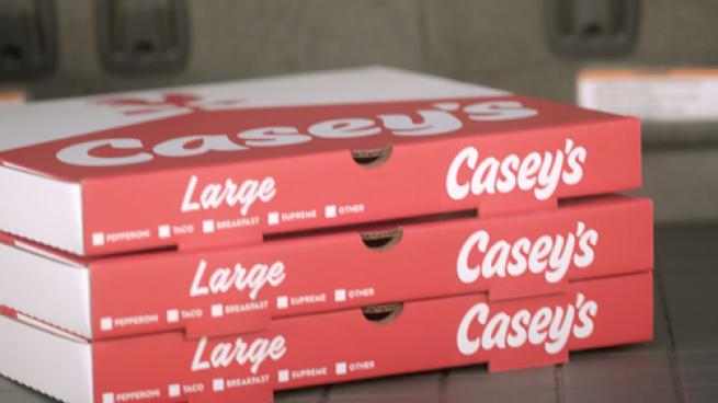 Pizza from Casey's General Stores
