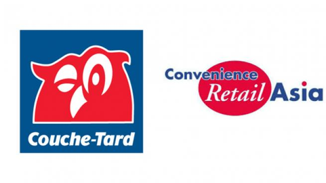Logos for Alimentation Couche-Tard and Convenience Retail Asia Limited