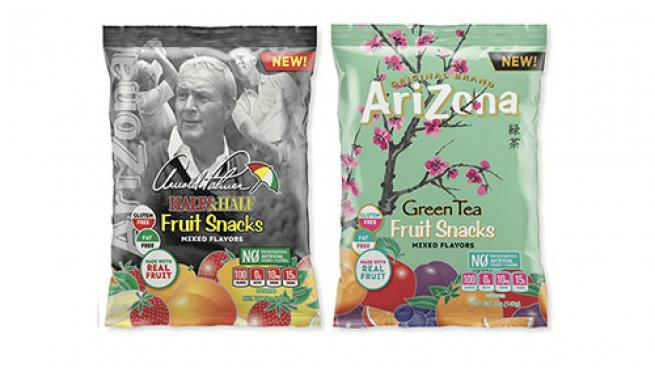 AriZona Green Tea & Arnold Palmer Fruit Snacks