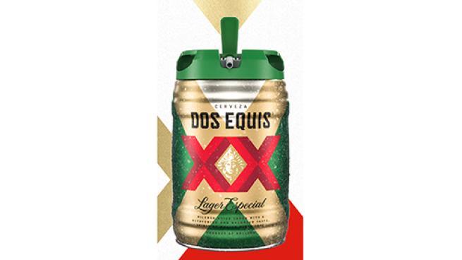 Dos Equis Five-Liter Draft Keg