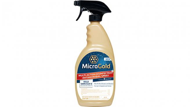 MicroGold Multi-Action Disinfectant Antimicrobial Spray