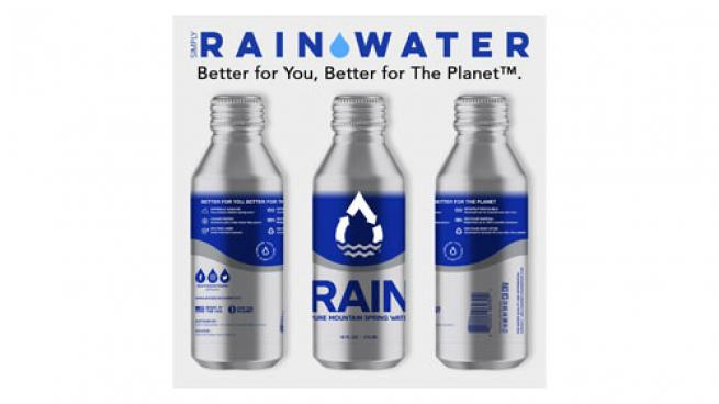 RAIN Water Recyclable Aluminum Bottles