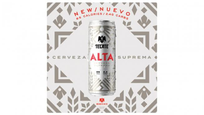 Tecate Alta Slim Cans