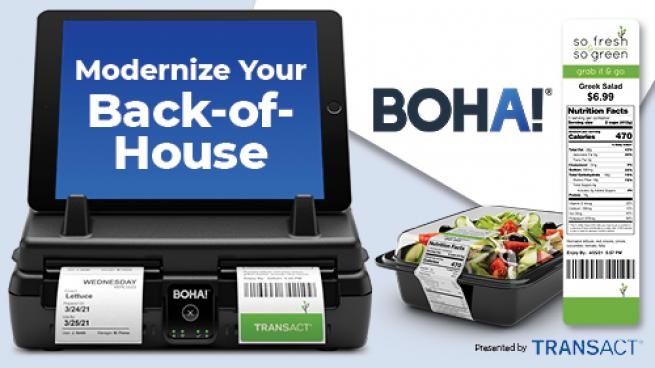 Labeling Convenience With BOHA!