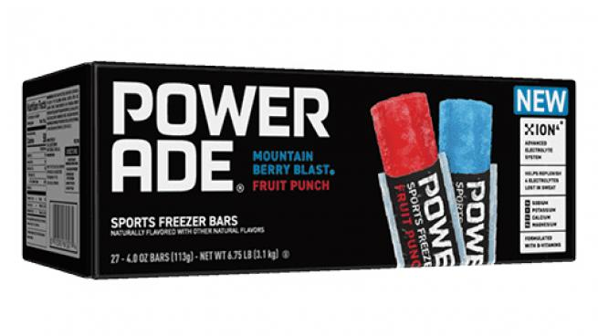 Powerade Freezer Bars