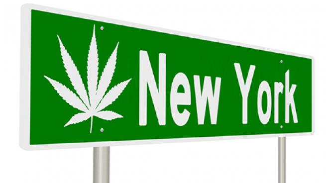 Marijuana legalization in New York
