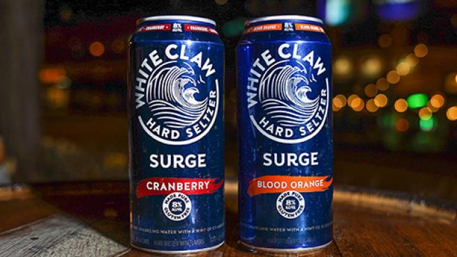 White Claw Hard Seltzer Surge