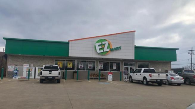 an E-Z Mart convenience store