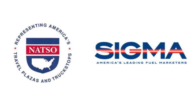 Logos for NATSO and SIGMA