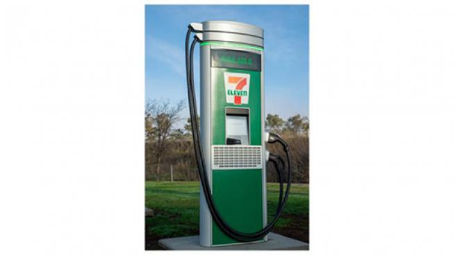 7-Eleven charging station