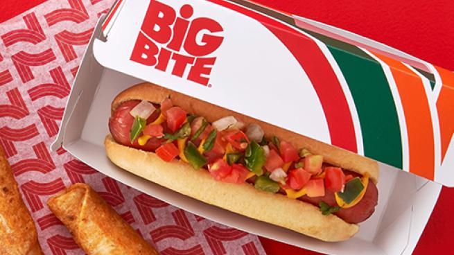 7-Eleven Big Bite hot dog