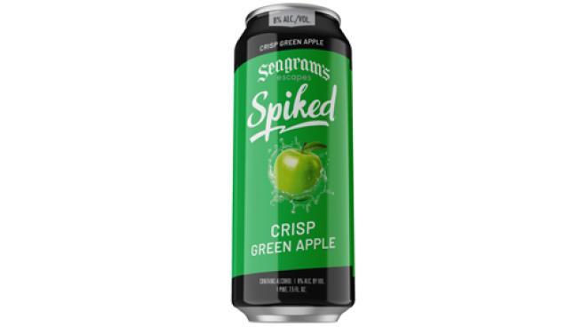 Seagram's Spiked Crisp Green Apple