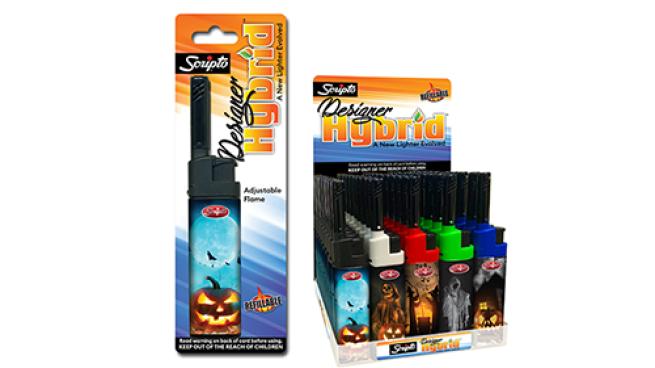 Scripto Hybrid Designer Halloween Lighter Series