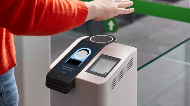 Amazon One palm payment technology