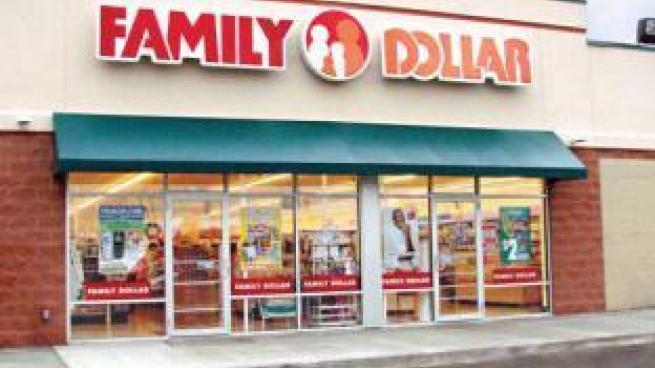 Family Dollar storefront