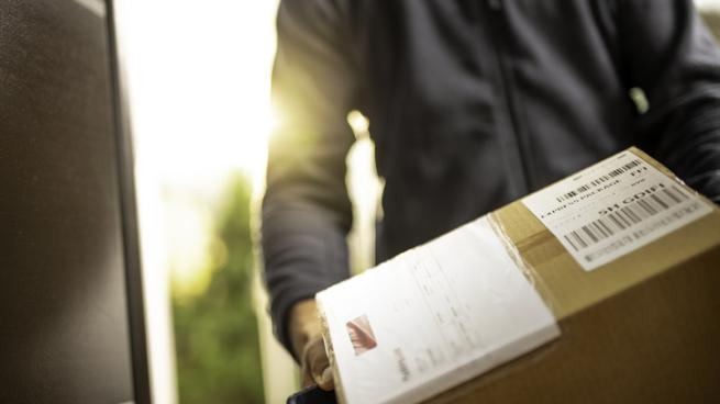 Delivering a package