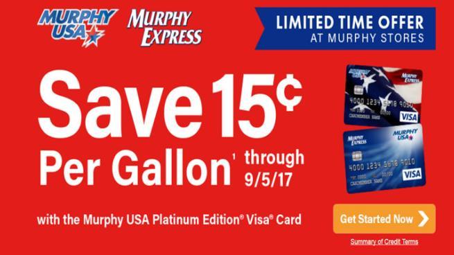 Murphy Visa Card >> Gas Discount Deal Leads Murphy Usa S Summer Promos