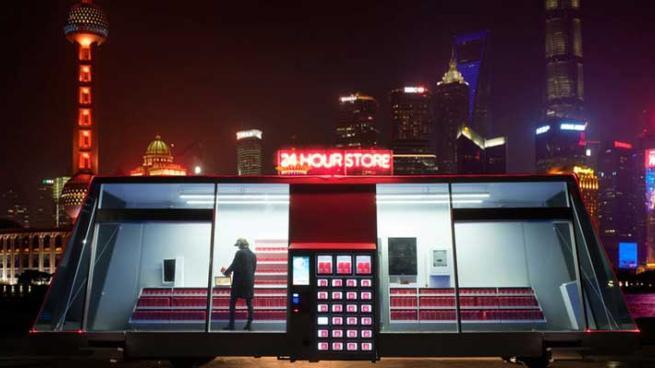 Prototype mobile convenience store comes to the customer for Mobili convenienti