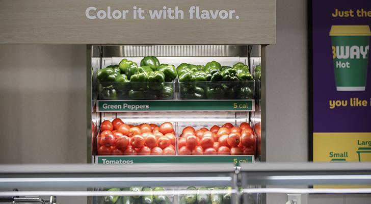 Subway Fresh Forward Restaurant