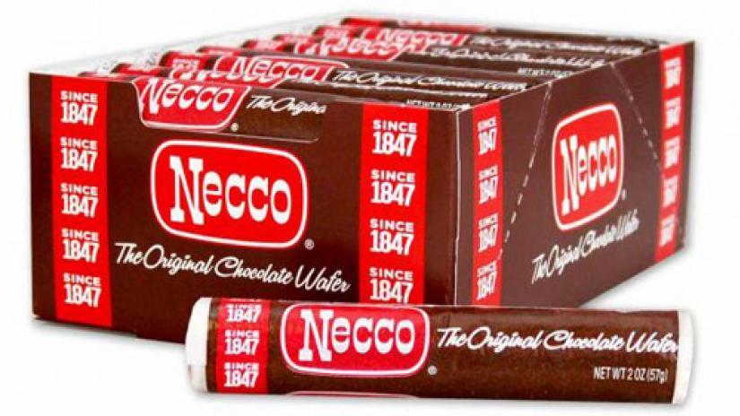 Necco Chocolate Wafer Roll