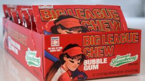 Big League Chew Slammin' Strawberry