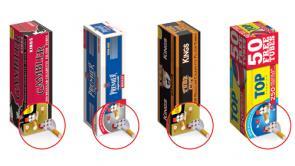 Republic Tobacco E-Z Dispenser Cigarette Filter Tube Cartons