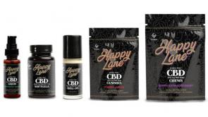Happy Lane CBD Product Line