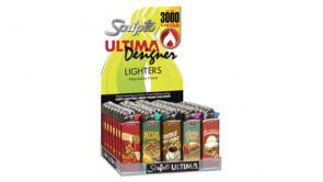 Scripto Ultima Designer Tie-Dye and Retro Diner