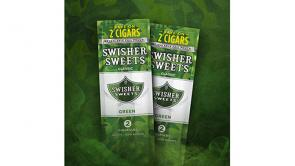 Swisher Sweets Green Camo Pouch