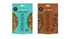 Wonderful Pistachios No Shells BBQ and Sea Salt & Vinegar