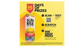 AriZona SunRise Hard Seltzer 99 Days of Prizes