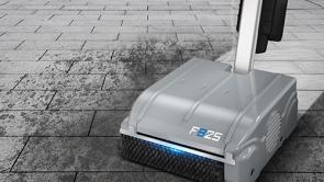 Battery Floorwash Floor Scrubber