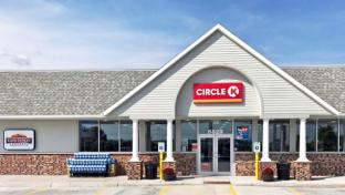 A Nice N Easy convenience store that has been converted to a Circle K