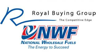 Royal Buying Group and National Wholesale Fuels logos