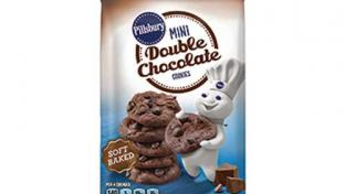Mini Double Chocolate Cookies