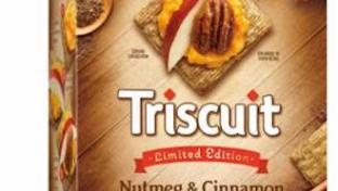 Triscuit Nutmeg & Cinnamon