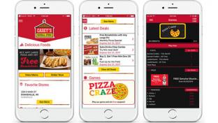 Casey's General Store mobile app interface