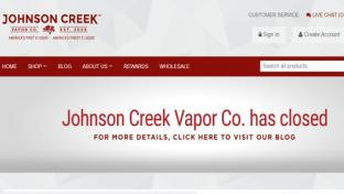 Johnson Creek Enterprises announces it is closing on its website.