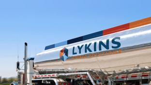 A Lykins Energy Solutions truck
