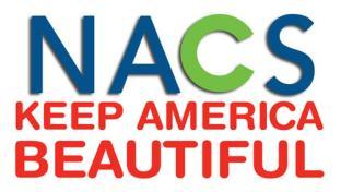 logos for NACS and Keep America Beautiful