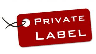 A tag that says Private Label